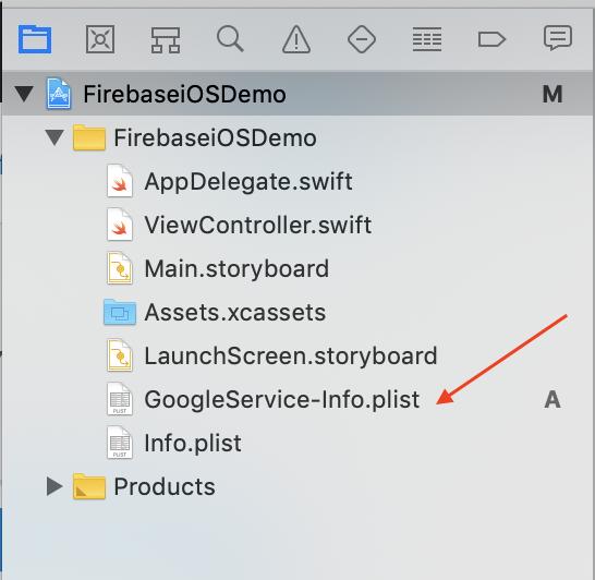 add-firebase-plist-file-to-project-navigator